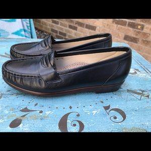 SAS Tripad Comfort Leather Shoes Slim